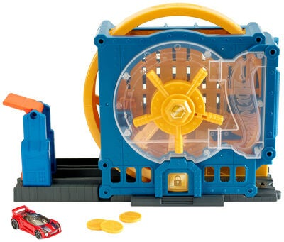 Hot Wheels City Lekset Super Bank Blast-Out