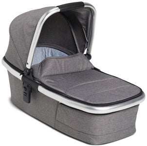 Beemoo Twin Travel+ 2020 Liggdel, Dark Grey Melange