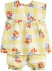 Tom Joule Topp & Shorts, Yellow Gingham Floral