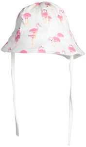 Tiny Treasure Lauren Solhatt, White/Flamingo