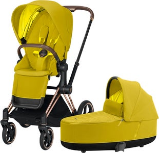 Cybex Priam Duovagn, Mustard Yellow/Rose Gold
