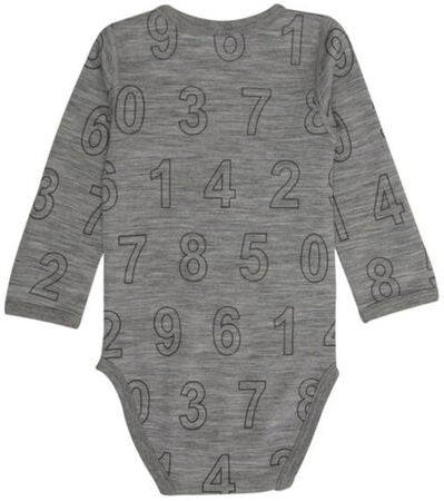 Hust & Claire Body Numbers Wool Grey