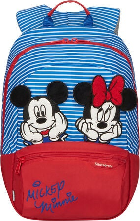 Samsonite Disney Ryggsäck 11L, Minnie/Mickey Stripes