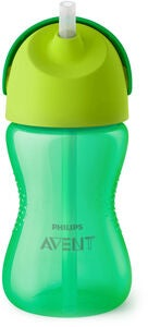 Philips Avent Sugrörsmugg 300ml, Grön