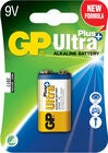 GP Batterier Ultra Plus Alkaline 9V 6LF22