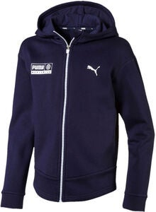 Puma Alpha Graphic Sweat Jacka, Peacoat