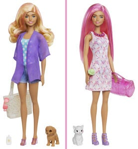 Barbie Color Reveal Beach To Party Docka