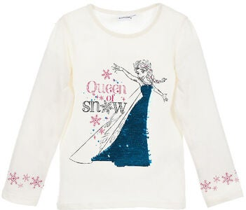Disney Frozen T-Shirt, Off White