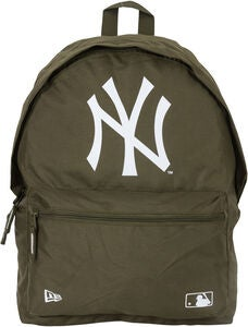 New Era MLB NYY Ryggsäck 16L, New Olive/White