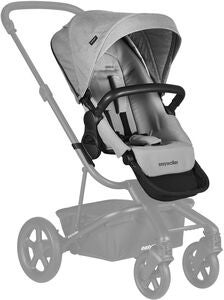 Easywalker Harvey 2 Syskonsits, Stone Grey