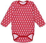 Luca & Lola Baby Body Bunnyland, Red