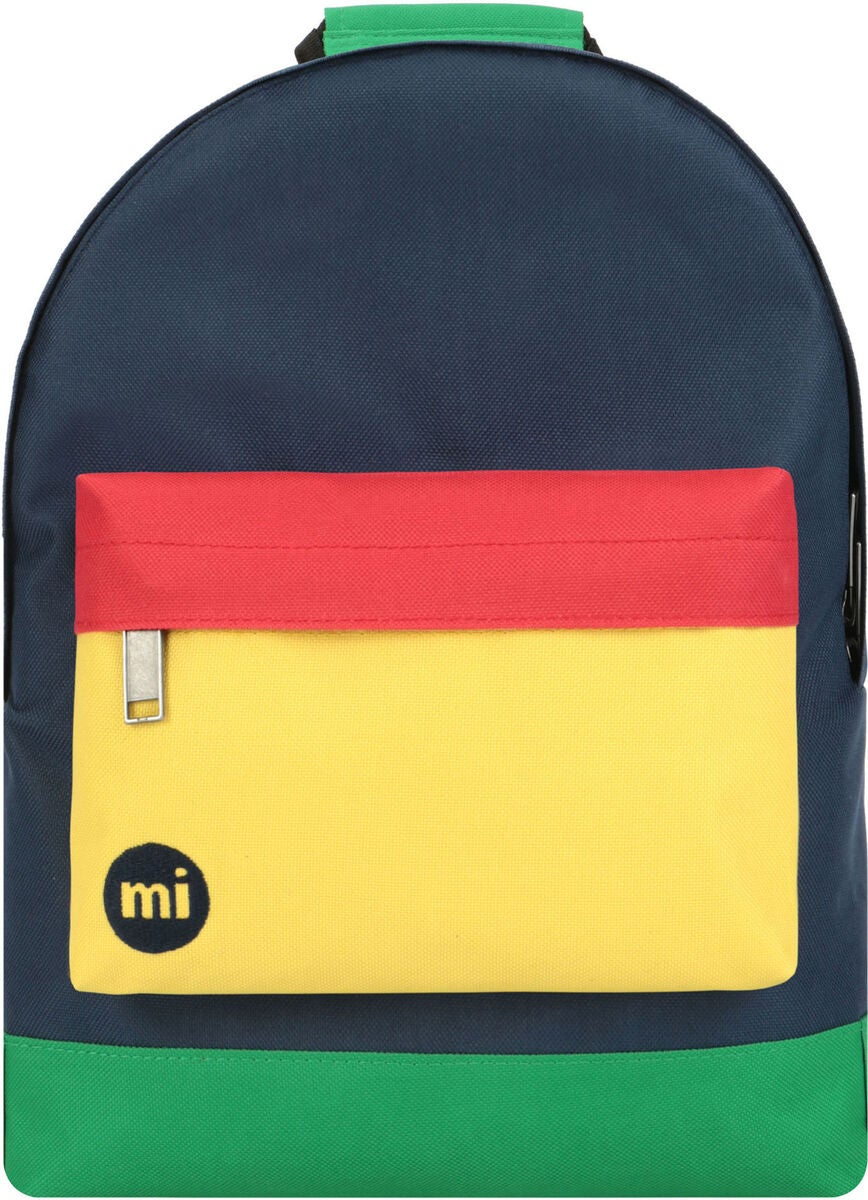 Mi-Pac Mini Colour Block Ryggsäck, Navy/Pastel Yellow