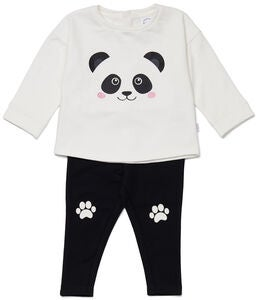 Luca & Lola Sorelina Fleece Set, Panda