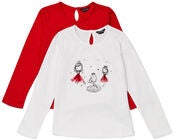 Luca & Lola Martina Topp, White/Red