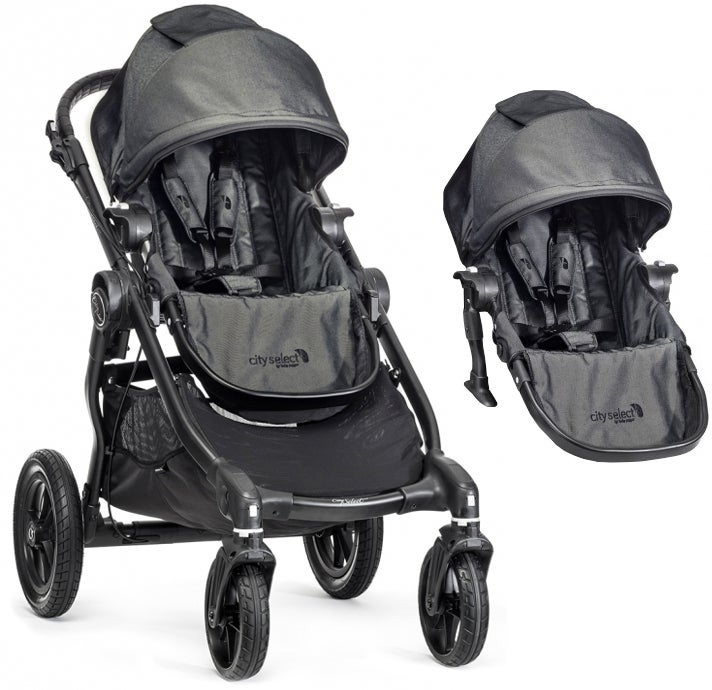 Baby Jogger City Select Syskonvagn, Charcoal