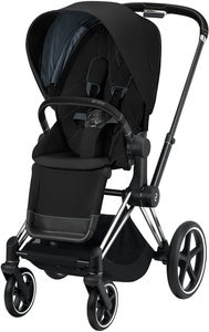 Cybex Priam Sittvagn, Deep Black/Chrome Black