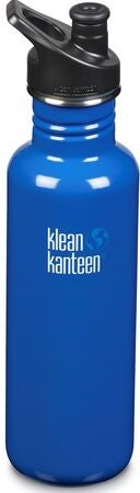 Klean Kanteen Classic Sports Cap Vattenflaska  800ml, Costal Waters