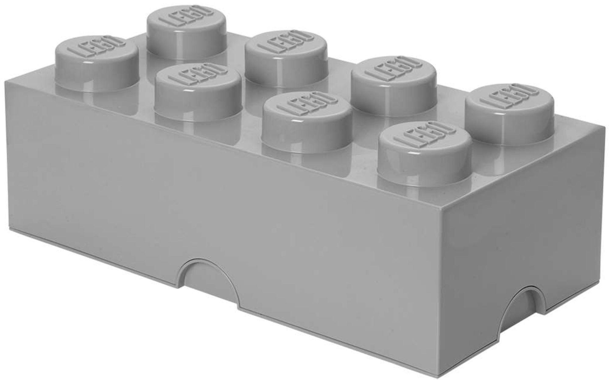 Lego Förvaring 8 Design Collection Grå