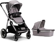 Beemoo Twin Travel+ 2019 Duovagn, Light Grey