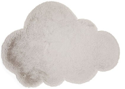 Alice & Fox Matta Fake Fur Cloud, Silver