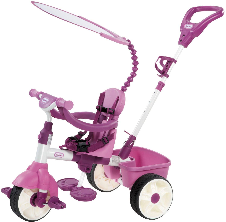 Little Tikes Trehjuling Trike 4-i-1, Rosa
