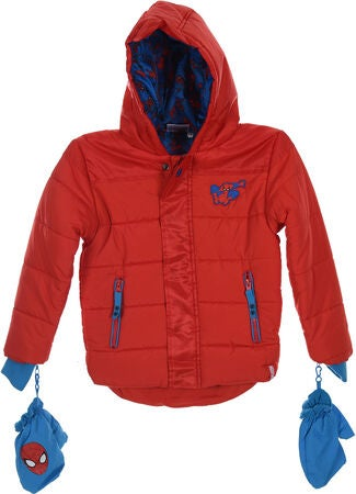Marvel Spider-Man Puffer Jacka, Red