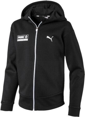 Puma Alpha Graphic Sweat Jacka, Black