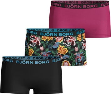 Björn Borg Trosa 3-pack, Black Beauty