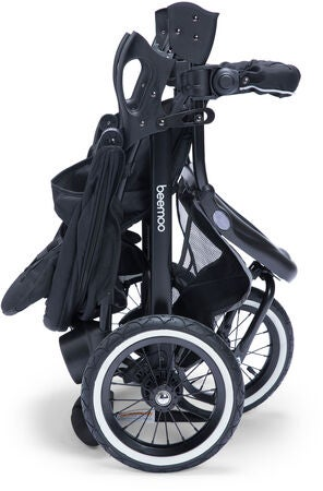 Beemoo Sport City Sportvagn, Black