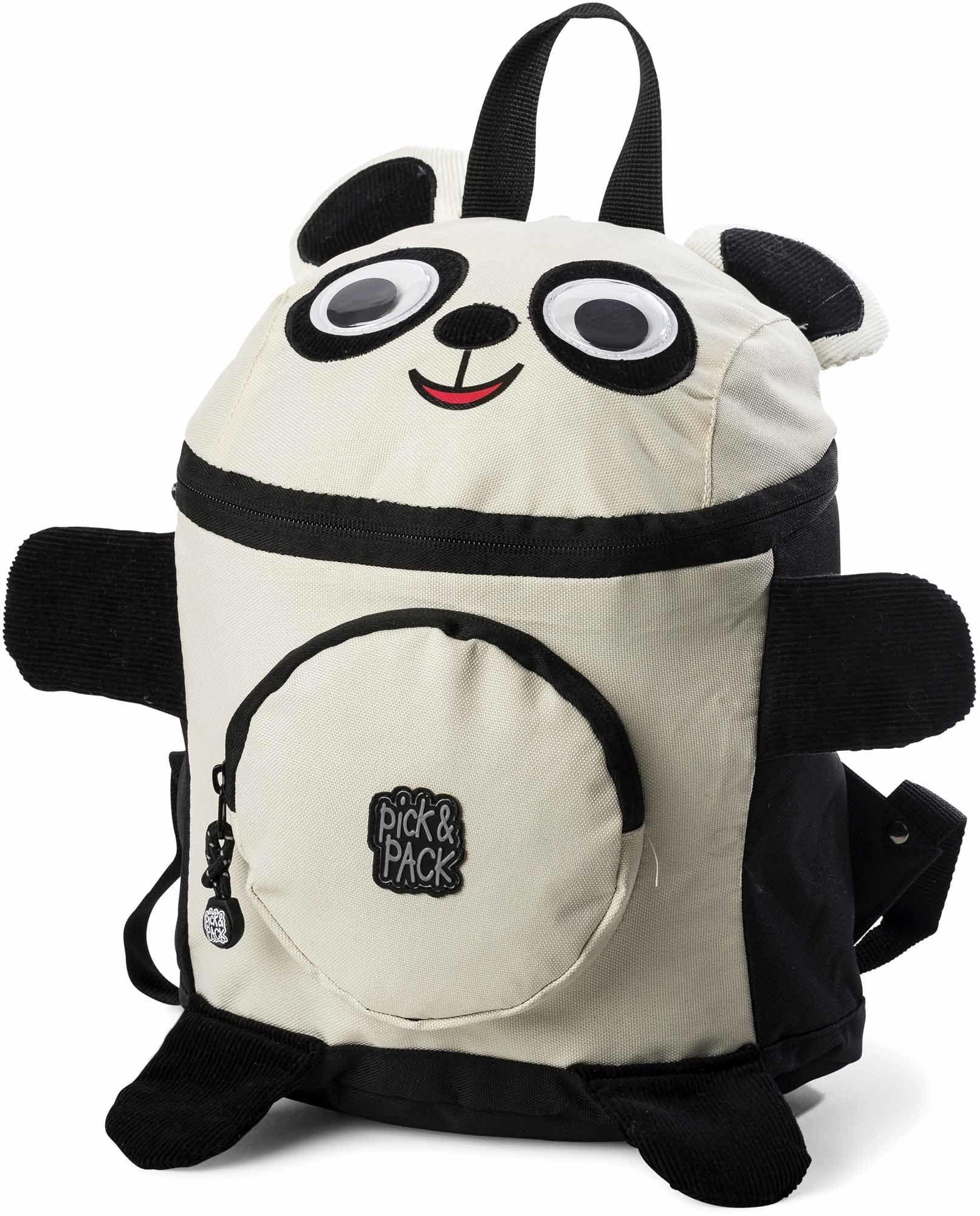 Pick & Pack Ryggsäck Panda, Black