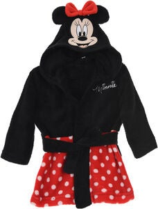 Disney Mimmi Pigg Morgonrock & Tofflor, Red