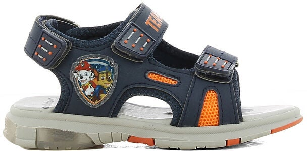 Paw Patrol Blinkande Sandal, Navy/Orange