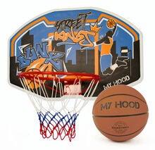 My Hood Basketkorg på Backboard med Boll c0bc88d33039b