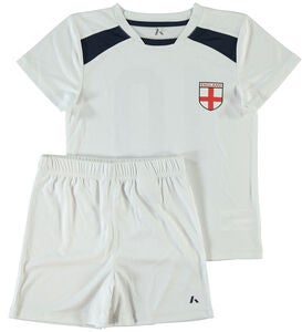 Name it Mini Klädset Football, Bright White