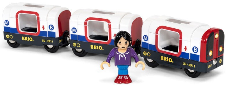 BRIO World 33867 Metrotåg