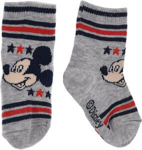 Disney Musse Pigg Strumpa, Light Grey