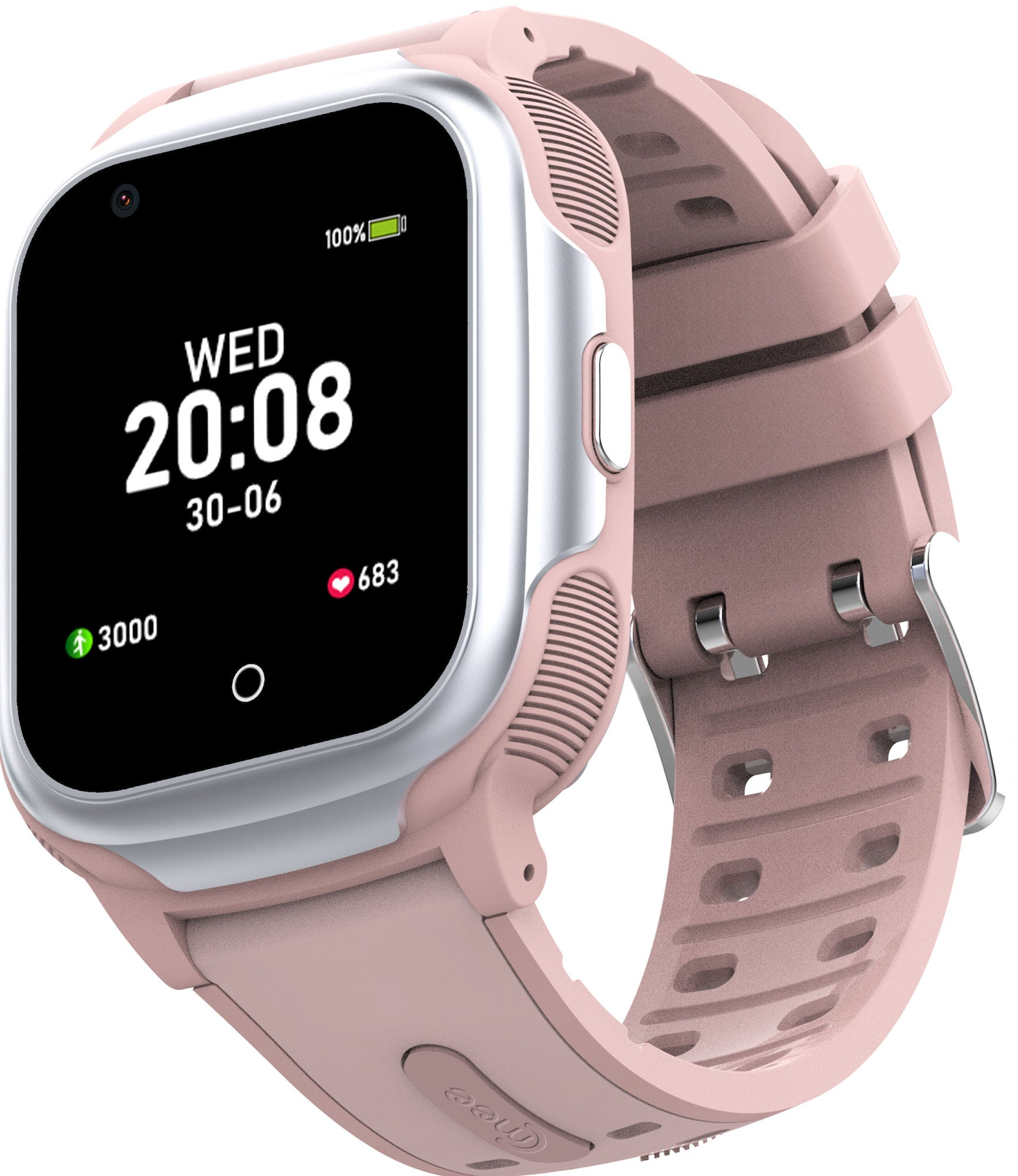 Cmee Play GPS-klocka, Fashion Pink