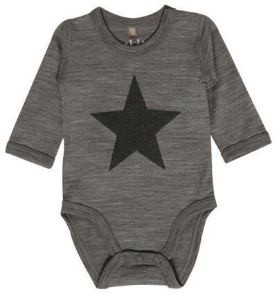 Hust & Claire Body Star, Wool Grey