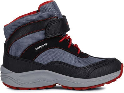 Geox New Alaska WPF Vinterkänga, Black/Red