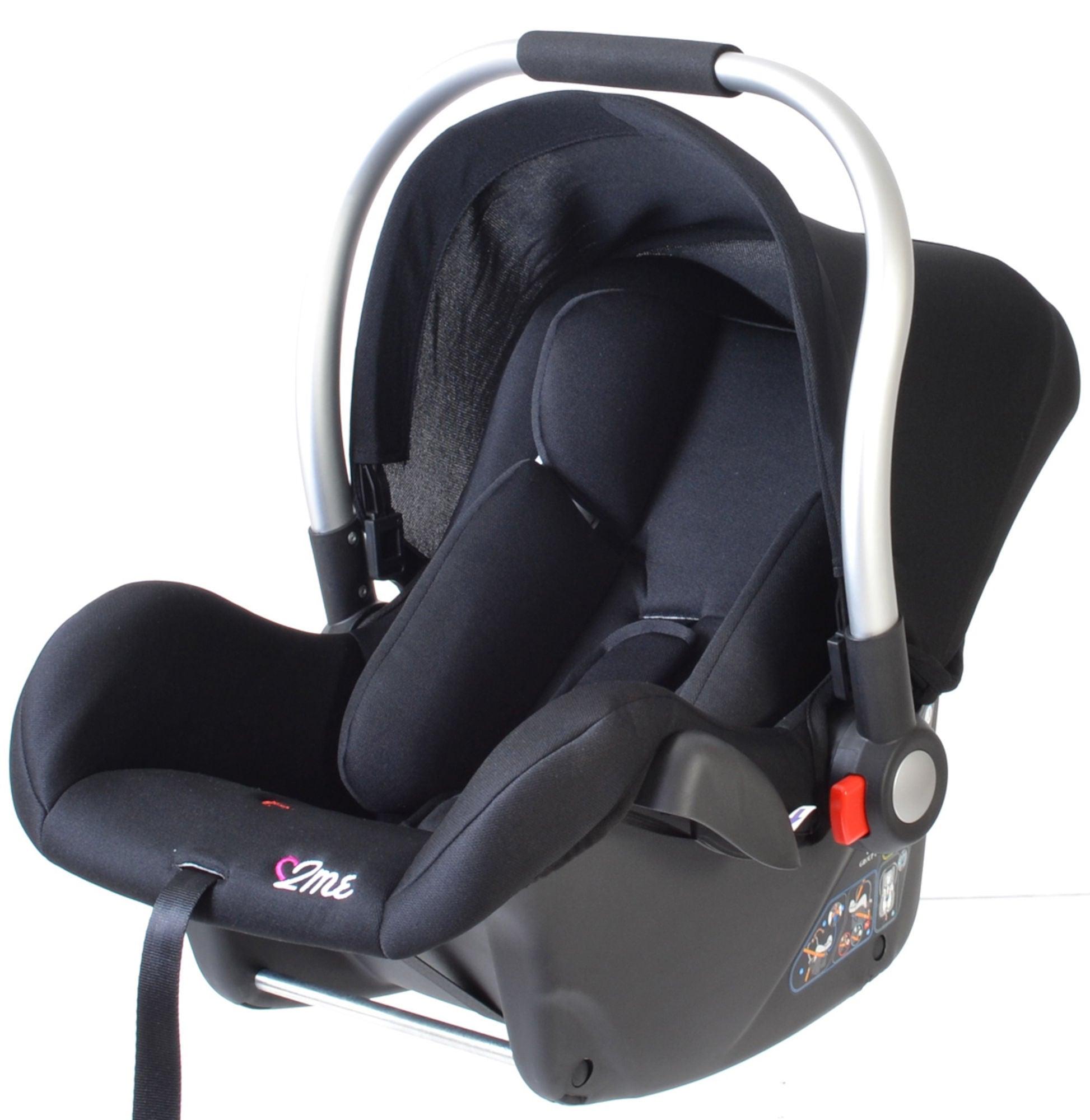 2ME Babyskydd Monza Svart