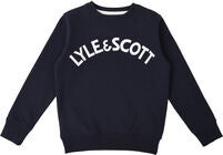 Lyle & Scott Junior Crew Neck Tröja, Navy Blazer