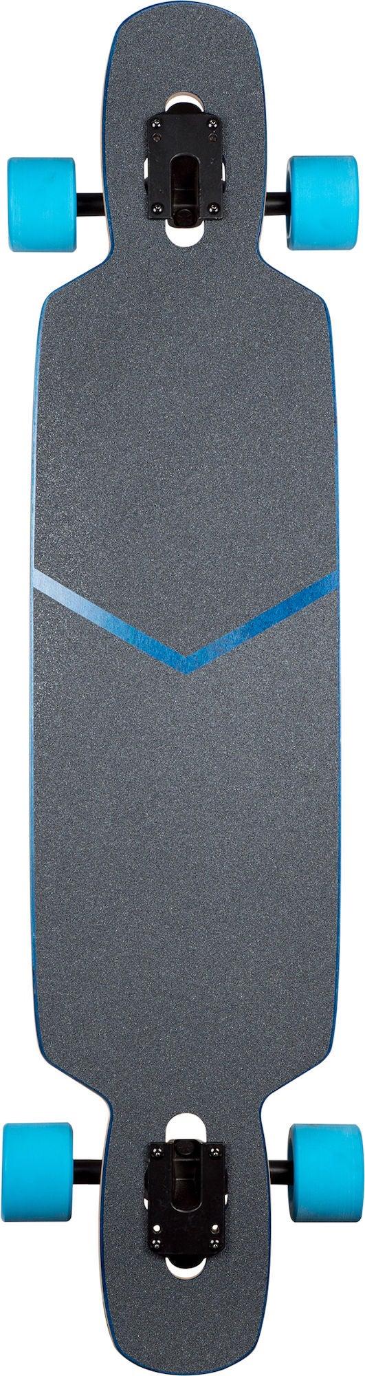 Wefunk Longboard Hexagon Twintip Blå