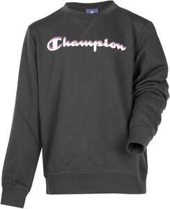 Champion Kids Crewneck Tröja, Anthracite