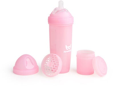 Herobility Baby Bottle Nappflaska 340 ml, Rosa