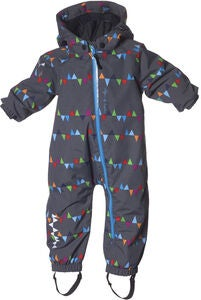 Isbjörn Toddler Overall, Peaks Grey