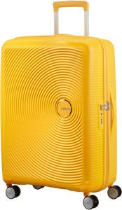 American Tourister Soundbox Spinner Resväska 71.5L, Golden Yellow