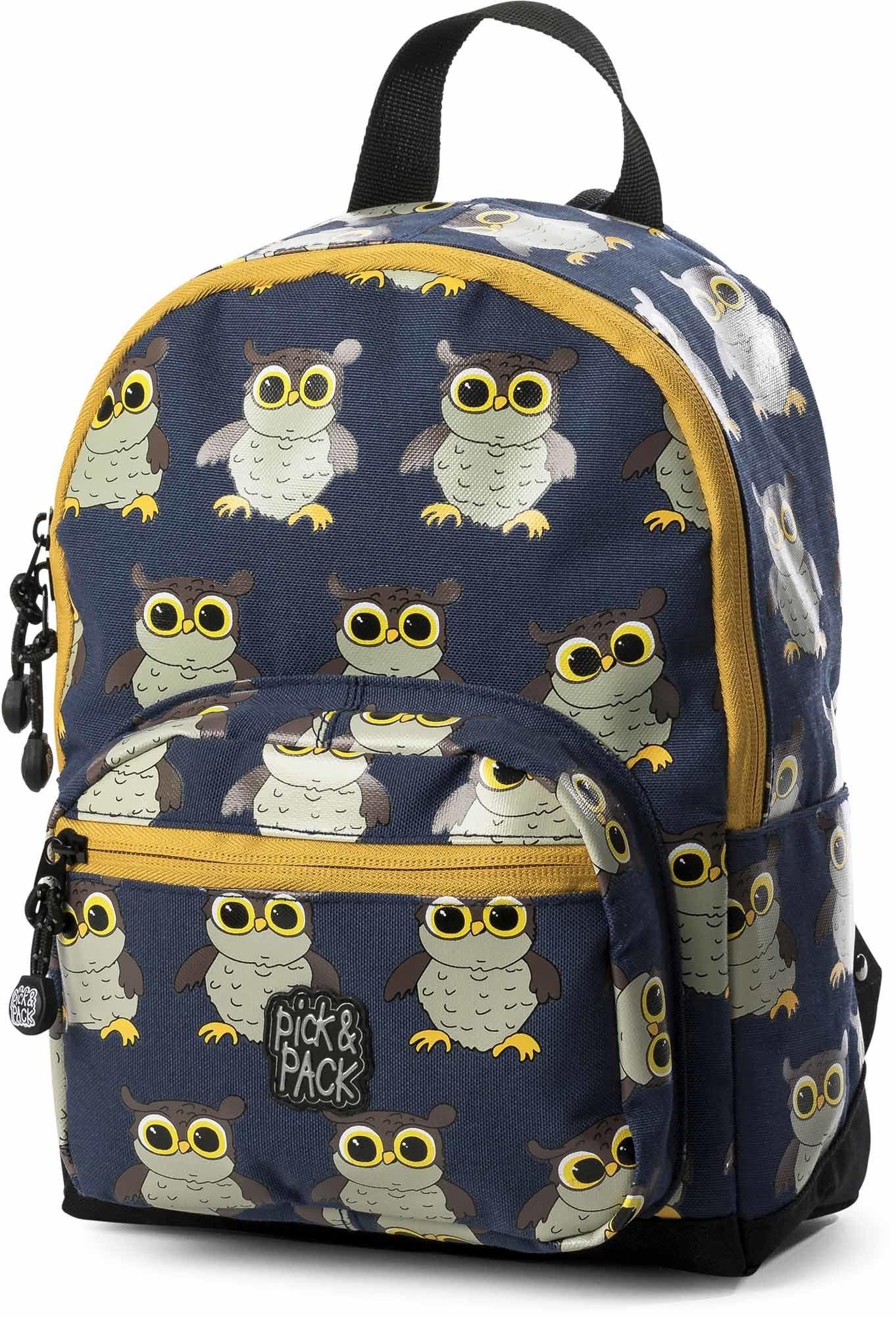 Pick & Pack Ryggsäck Uggla, Blue