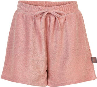 Creamie Glitter Jersey Shorts, Silver