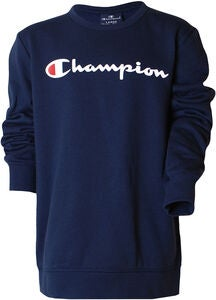 Champion Kids Crewneck Tröja,, Black Iris