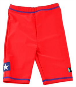 Swimpy Sea Life UV-shorts, Röd